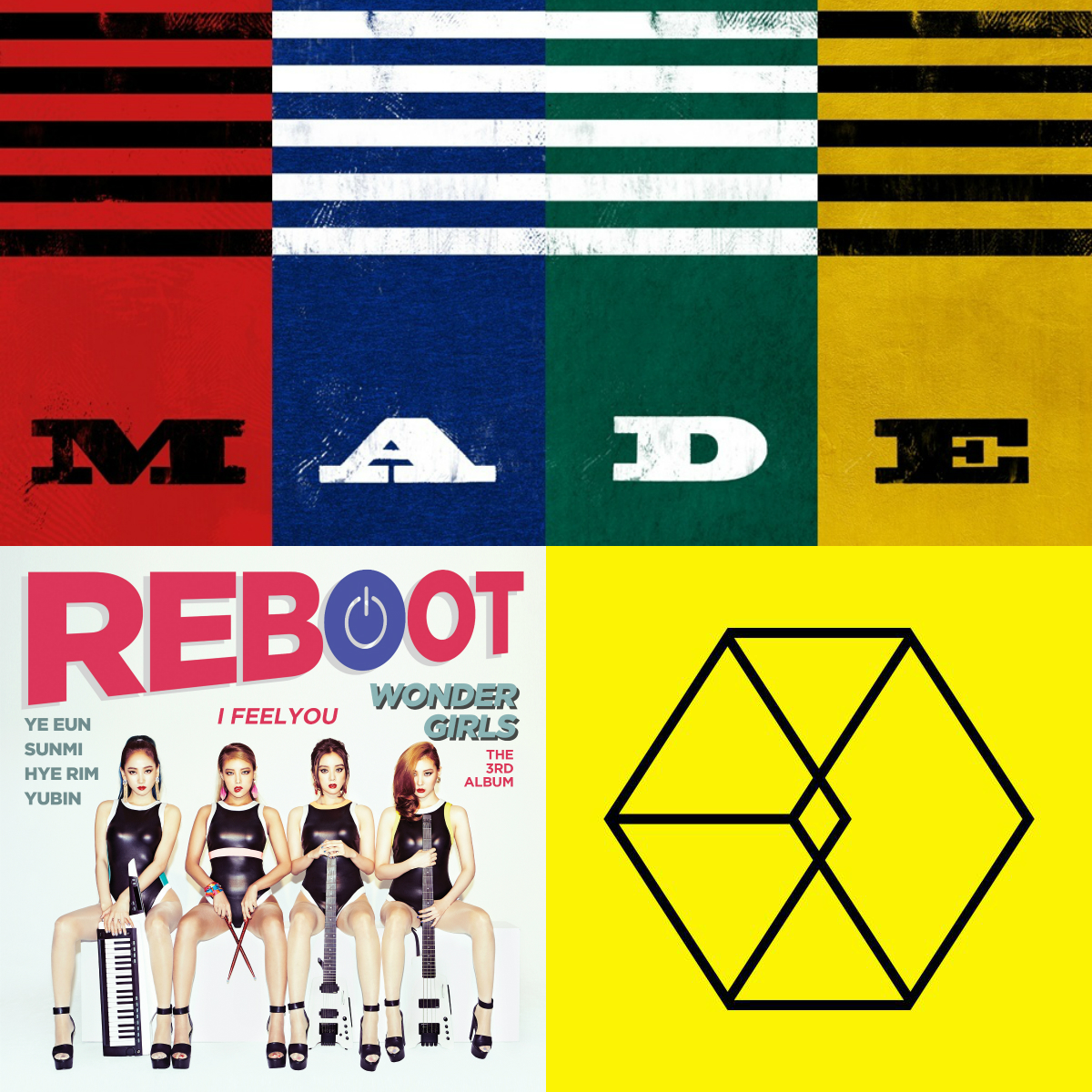 Best K-pop albums main