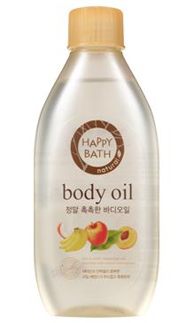 Happy Bath Real Moisture Body Oil