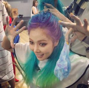 Hyuna Hair Color
