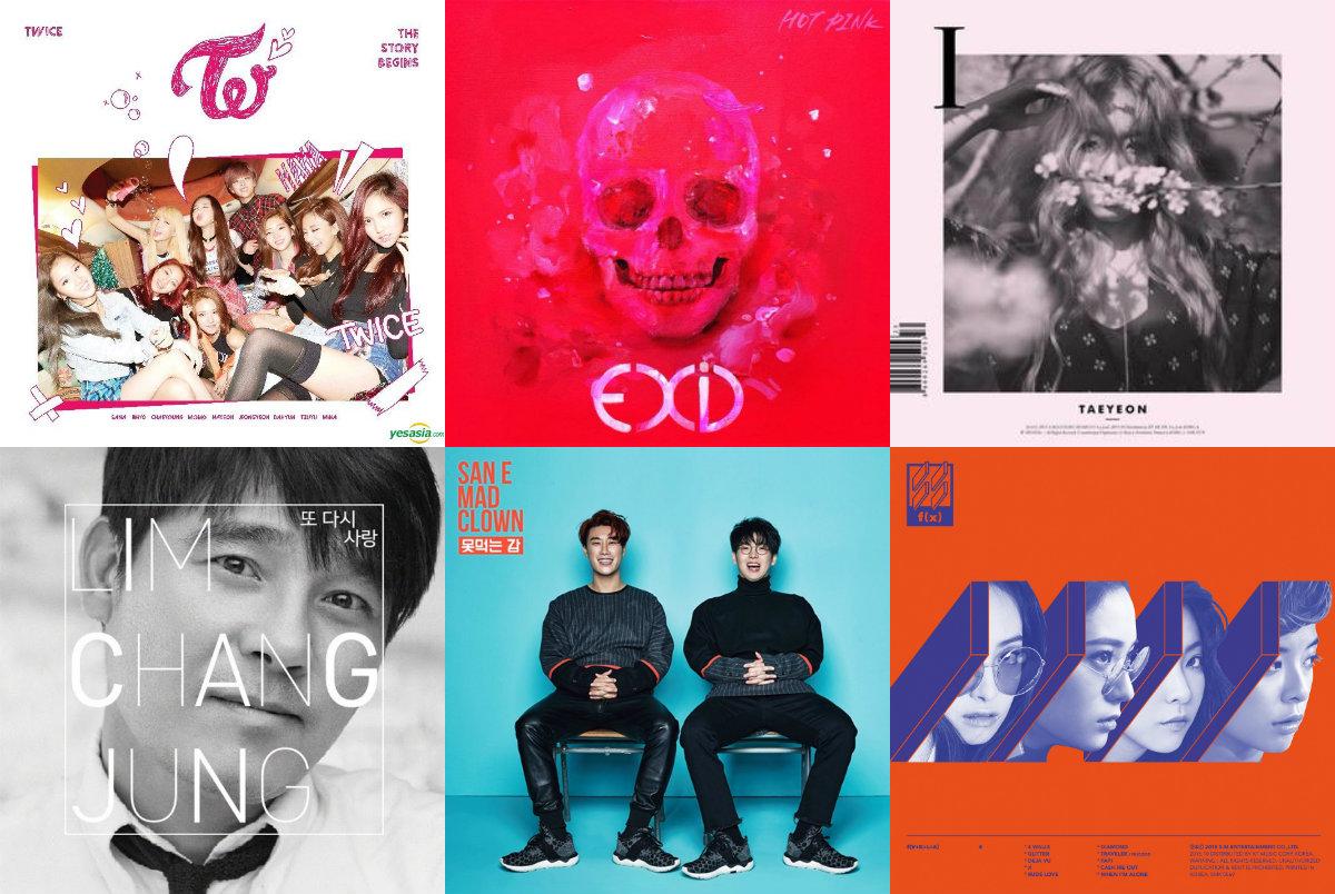 Weekly K-Pop Music Chart 2015 – December Week 2 soompi