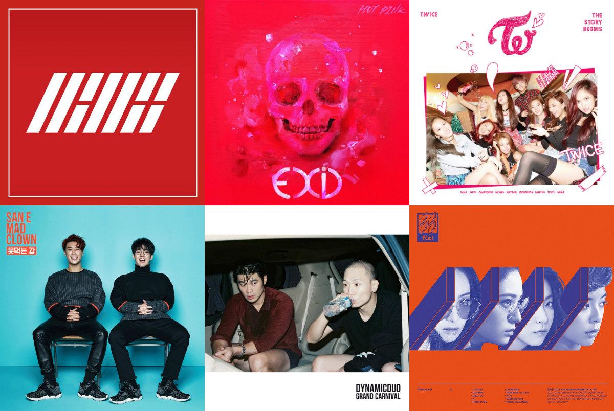 soompi Weekly K-Pop Music Chart 2015 – December Week 1