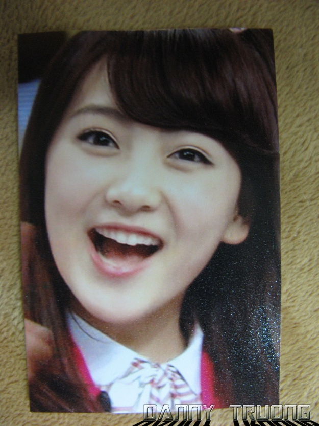 Jiyoung wallet picture given by fanclub member