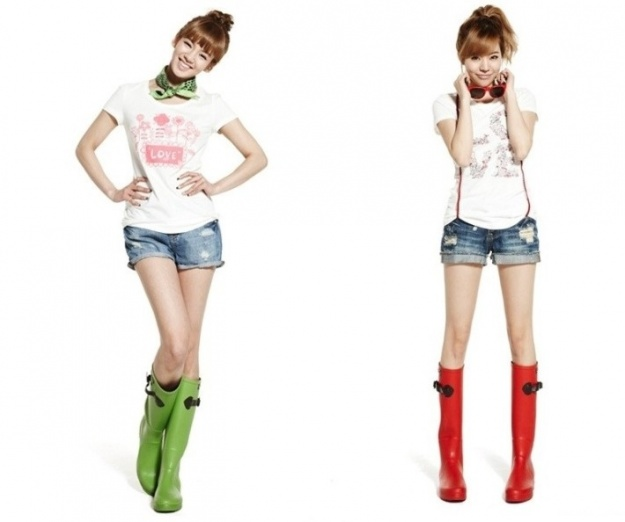 Who Wore It Best Rain Boots Edition Soompi