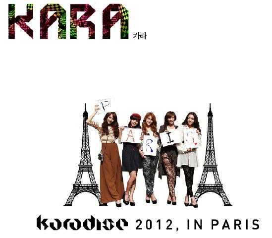 Karadise 2012, Paris