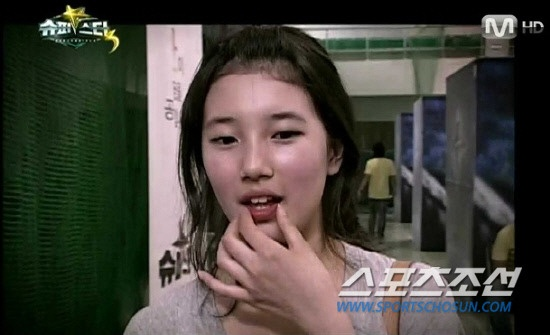 Photo of Suzy when she auditioned for KBS's