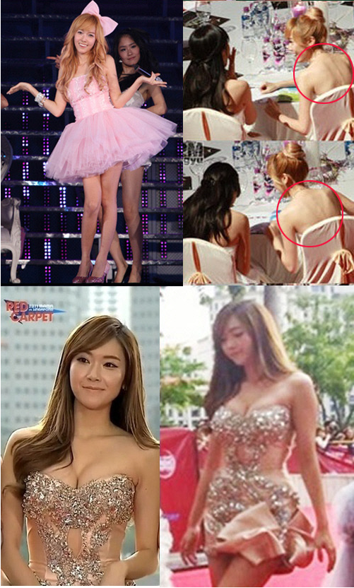 Snsd S Jessica S Figure Over The Years Chubby Scrawny