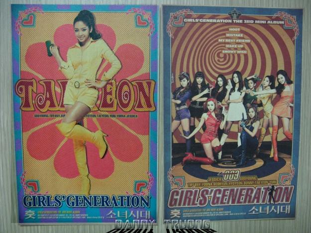 Free stuff @ Music Core Taeyeon + Group card