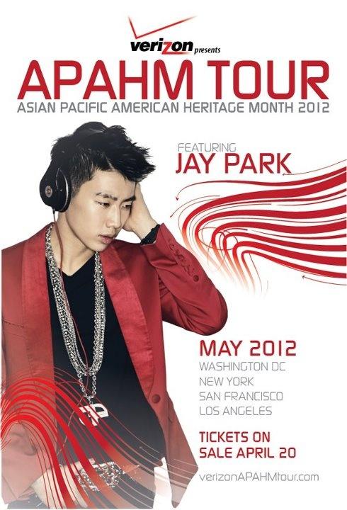 Jay Park APAHM Tour 2012
