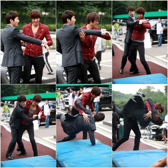 """City Hunter"" Teases With Lee Min Ho And Lee Joon Hyuk's"