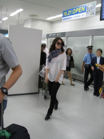 Yoon Eun Hye's Arrival in Japan