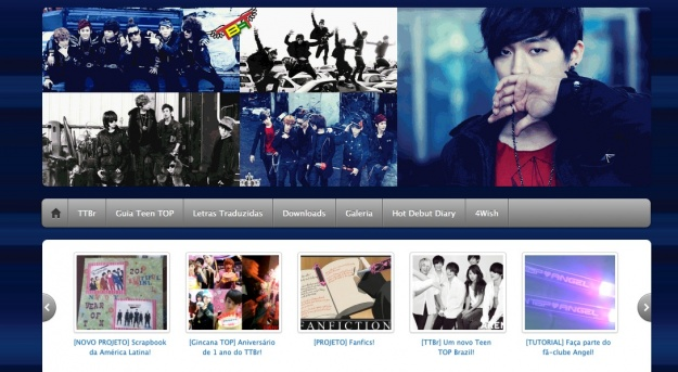 Teen Top's Brazilian Fan Blog