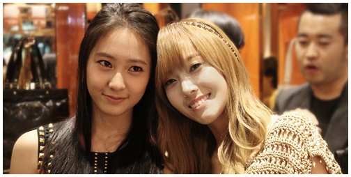 f(x)'s Krystal Looks More Like SNSD's Yoona than her Real ... Krystal Jung And Yoona Look Alike