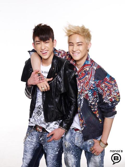 JJ Project Nanas' B Models