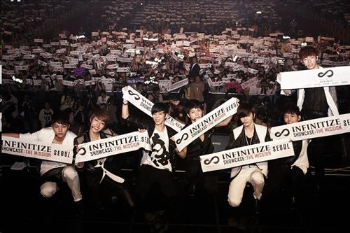 Infinite in Seoul for their Showcase