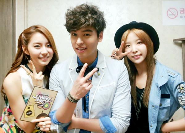 Raina, UEE, and Lee Jang Woo