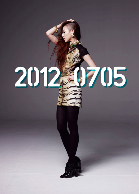 2ne1s new album set for july 5 and look at sandara parks