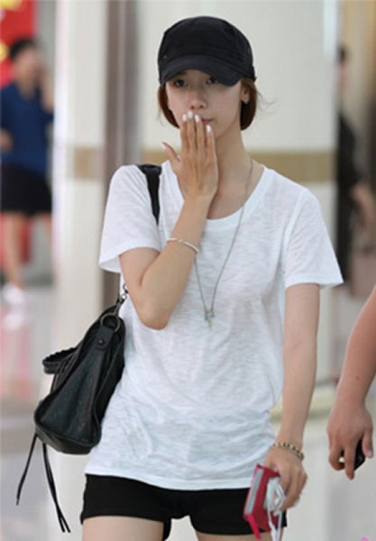 Girls' Generation YoonA at the Airport | Soompi