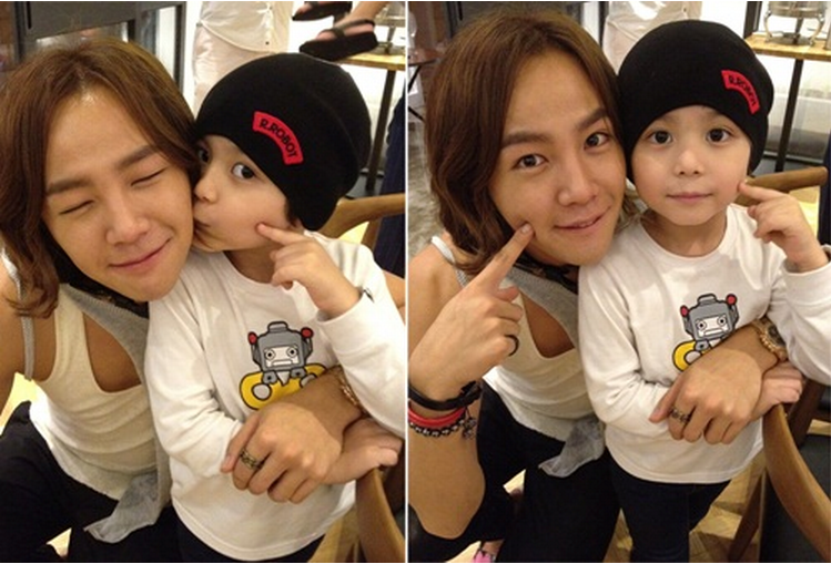 Jang Geun Suk Reunites with His Son Mason Moon | Soompi