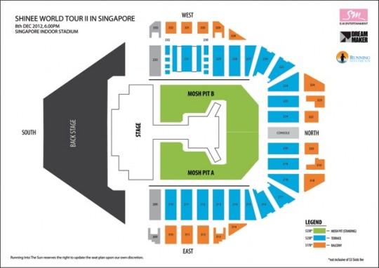 Shinee Tour  Tickets La