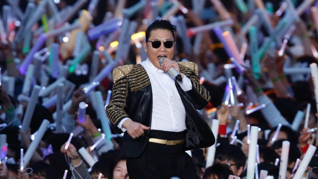 PSY's Concert in Pictures Part 1