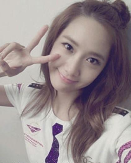 Astounding Girls39 Generation39S Yoona Looks Adorable With Apple Hairstyle Short Hairstyles Gunalazisus