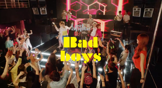 Led Apple Bad Boys mv