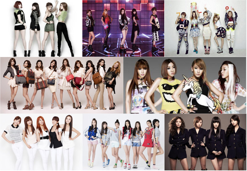 [Gallery] Latest K-Pop Girl Group Rankings