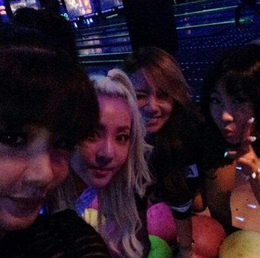 2ne1 at pierrot strike