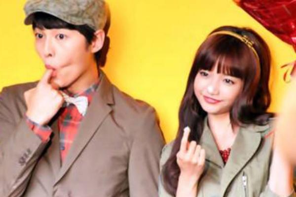 Song Joong Ki and Ha Yeon Soo Are a Fashionable Couple for Samsonite
