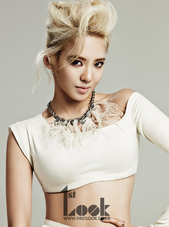 Hyoyeon 1st Look 1