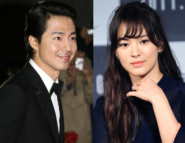 Jo In Sung and Song Hye Gyo