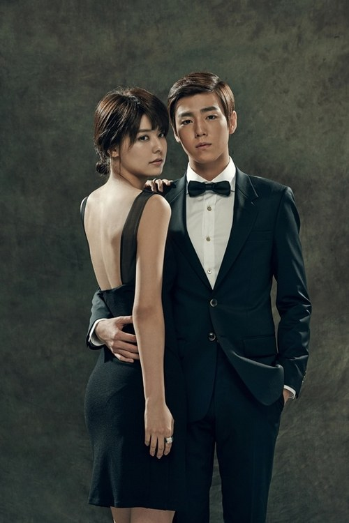 Lee Hyun Woo and Fujii Mina