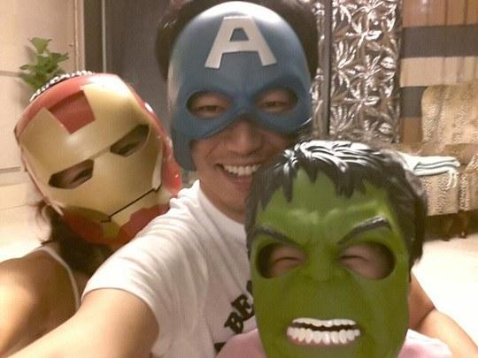 Lee Jong Hyuk family