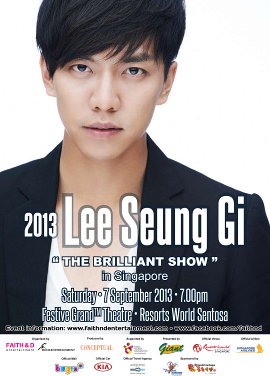 Lee Seung Gi Official poster_