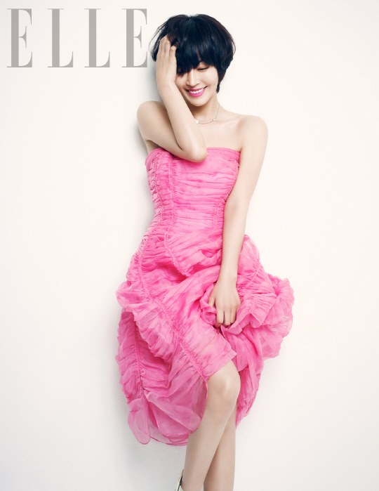 kim so yeon for elle