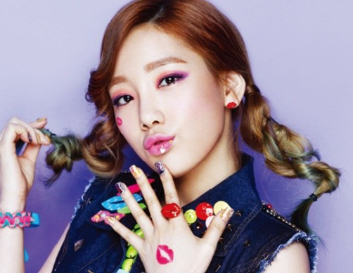 "Girls' Generation Puckers Up for ""Campus 10"" Pictorial"