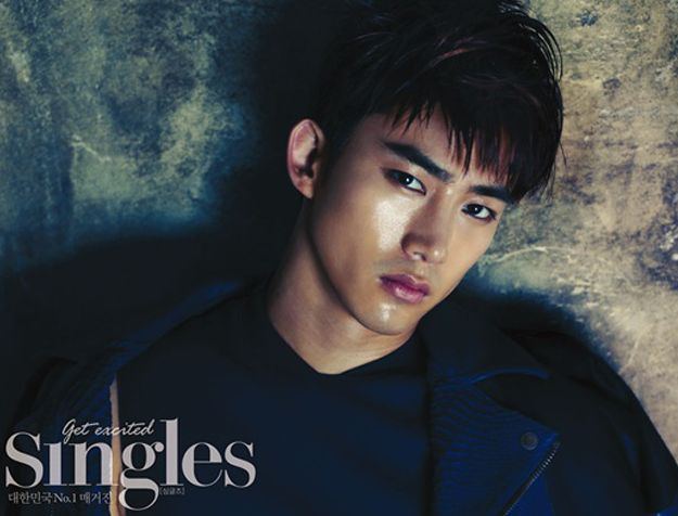 """Kim Jae Wook and Taecyeon in a Ghostly World for Upcoming """"Singles"""" Photo Shoot"""