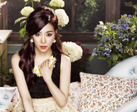 "Tiffany is Poised and Demure in a Secret Garden for Upcoming ""Ceci"" Photo Shoot"