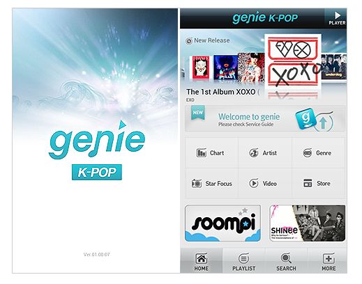 genie app for smartphone