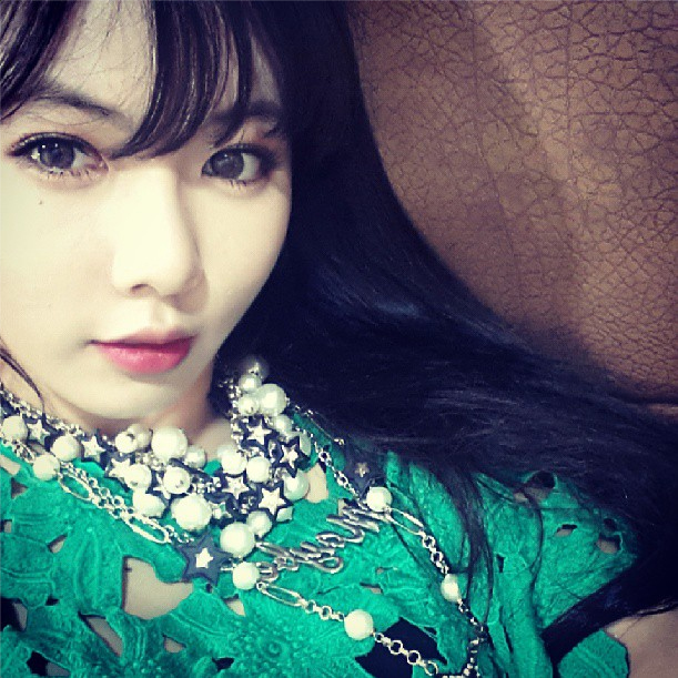 [Gallery] HyunA Has Fun With Fellow 4Minute Members on Instagram
