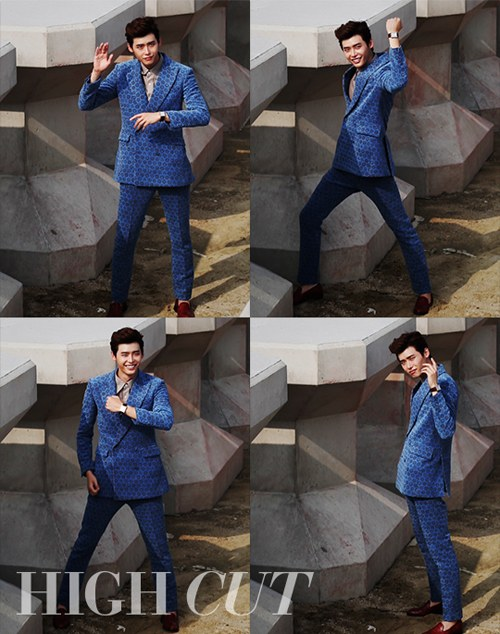 High Cut Lee Jong Suk BTS