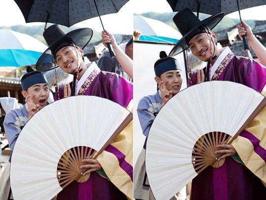 Moon Geun Young and Lee Kwang Soo