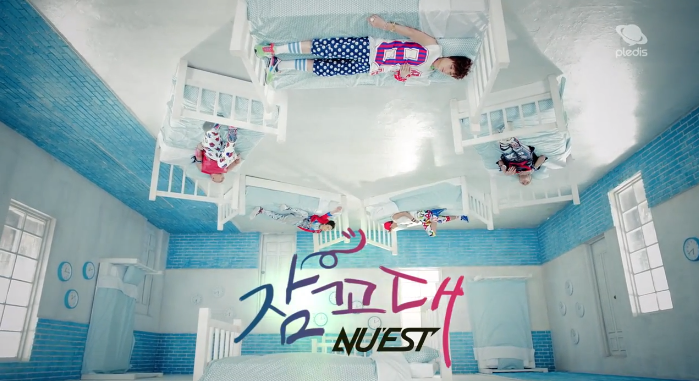 Nuest sleep talking