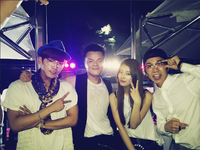 jyp suzy wooyoung junho ciroc party