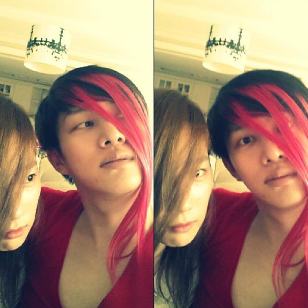 Heechul and Taeyeon