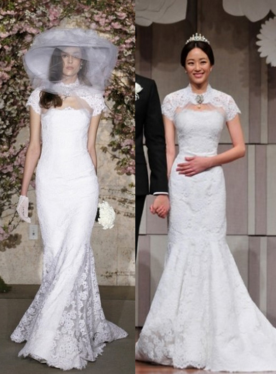 the best and worst celebrity wedding dresses soompi
