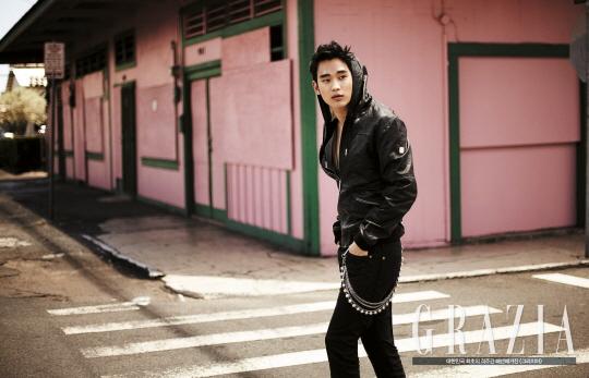 kim soo hyun grazia 5