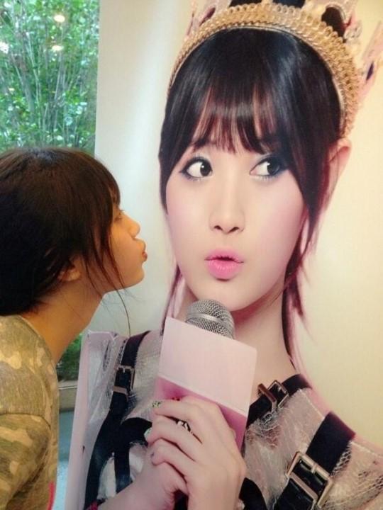 girl's day yura poster
