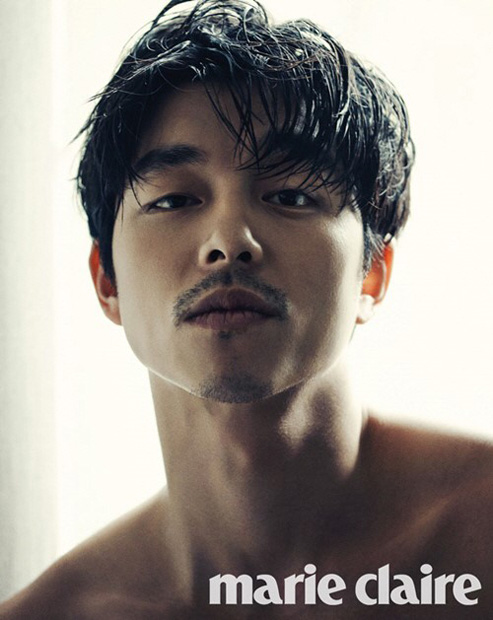 suspect actor gong yoo lands special edition cover of marie claire soompi. Black Bedroom Furniture Sets. Home Design Ideas