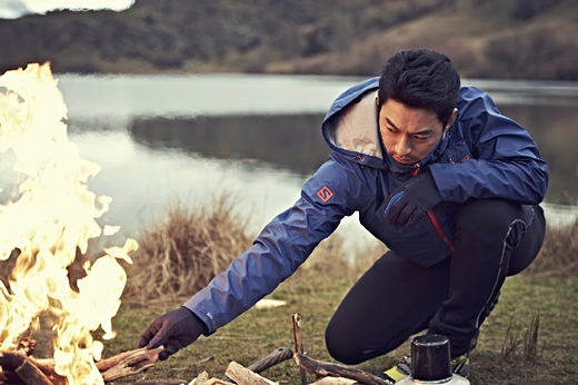 Joo Jin Mo Shows Off His Rugged Good Looks for Salomon's F/W 2013 Advertisement Campaign